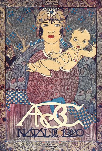 Illustration by Jorge Barradas (1894-1971), for the cover of ABC , number 24, of 23 December 1920.