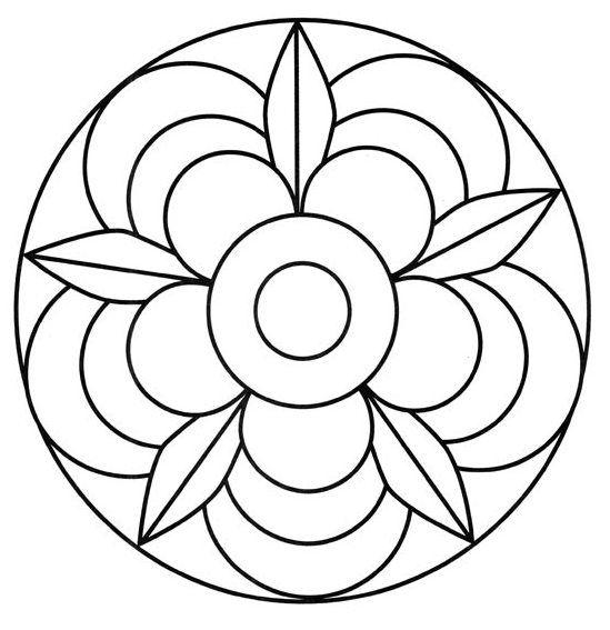 Mandala Modelos Hippie Mandala Tie Dye More Template