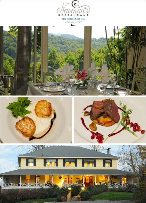 Newman S Restaurant At The Orchard Inn Saluda Nc