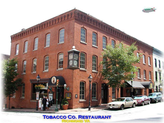 The Company Very Nice Upscale Restaurant Located In Historic Shockoe Slip Richmond