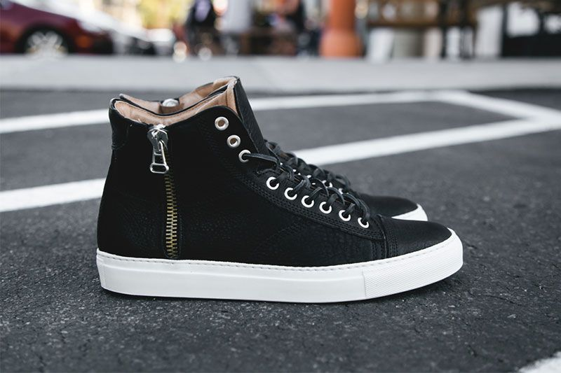 wings + horns Fall/Winter 2013 High-Top Sneaker - black