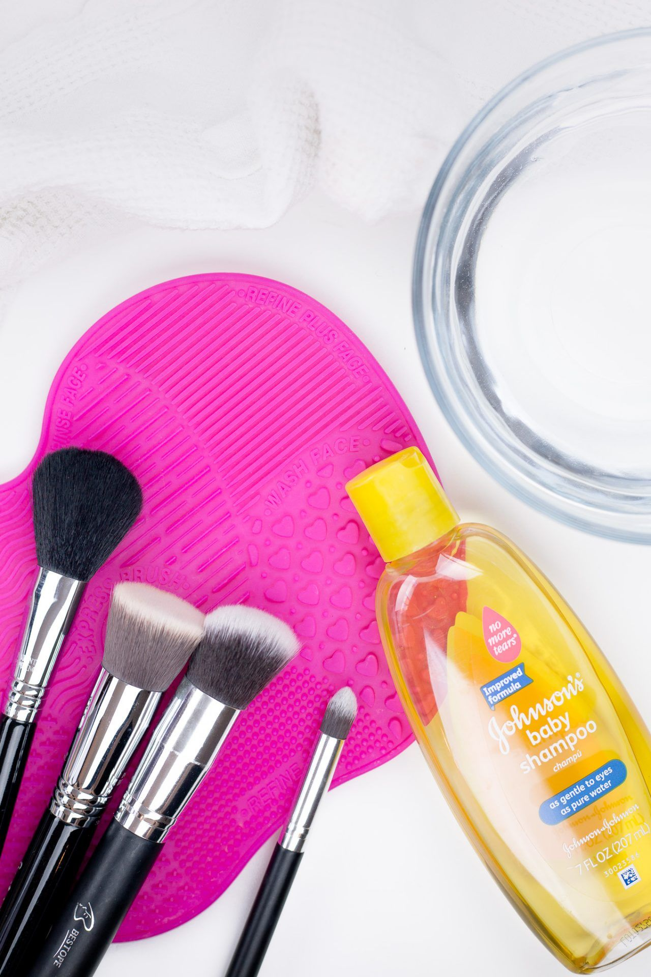 How To Clean Makeup Brushes With Baby Shampoo Makeup