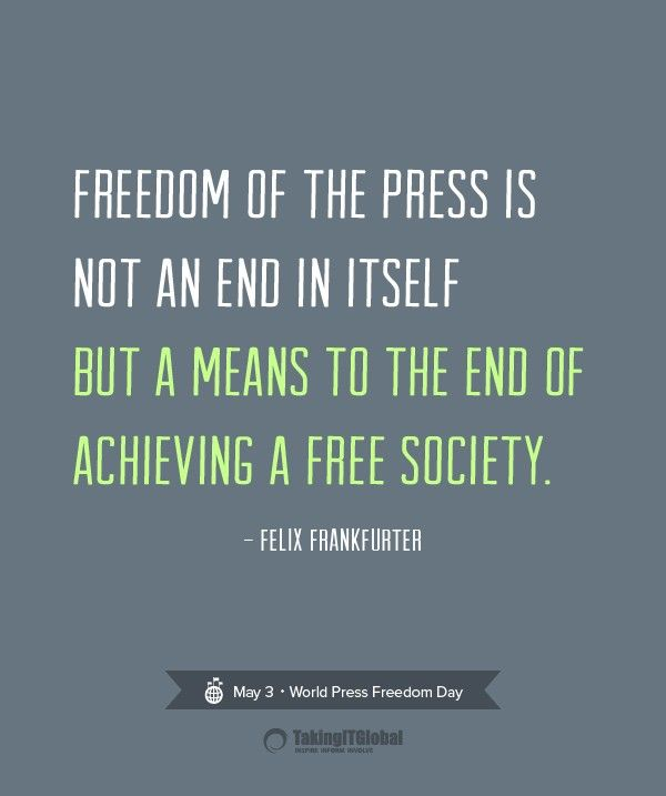 Freedom Of Press Quotes Pinhandan Mon Quotes   Pinterest