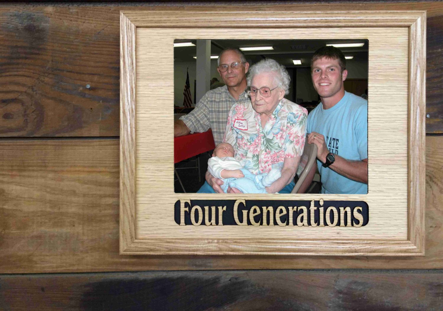 Holds 5x7 Photo 8x10 Family Generations Picture Frame