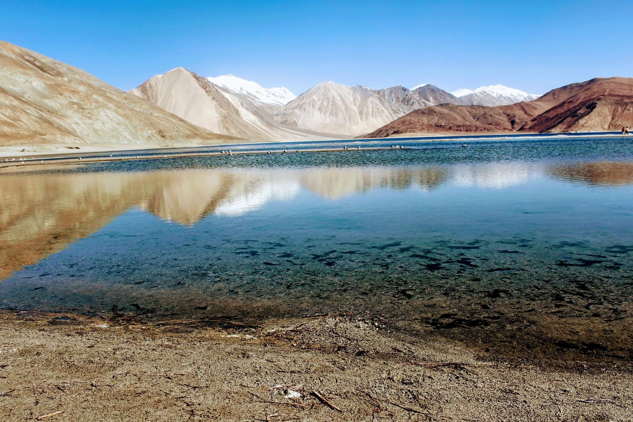 Pangong Lake Ladakh India 2048x1366 Oc On The Other Side Of