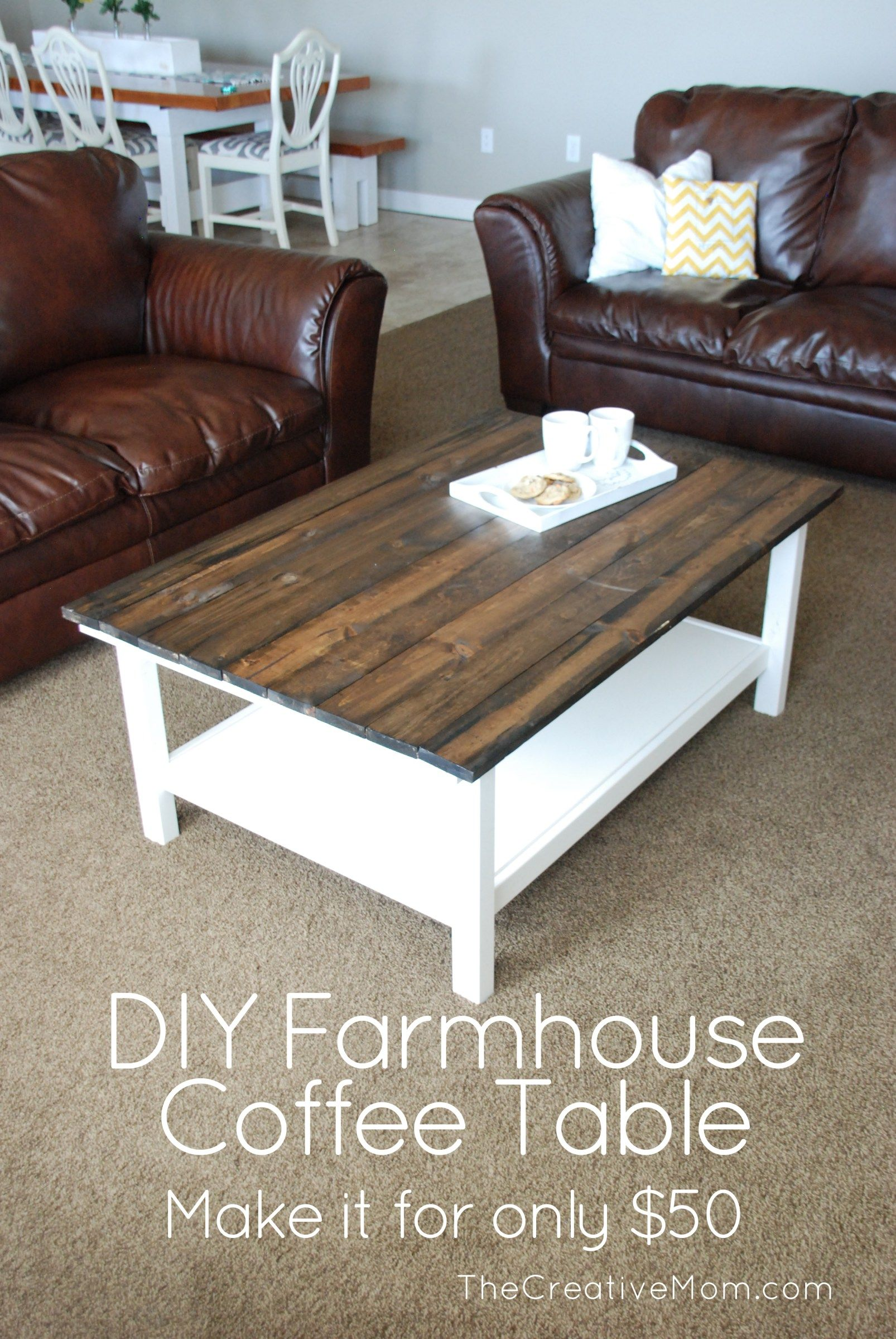 Diy farmhouse coffee table ikea hack coffee table ikea