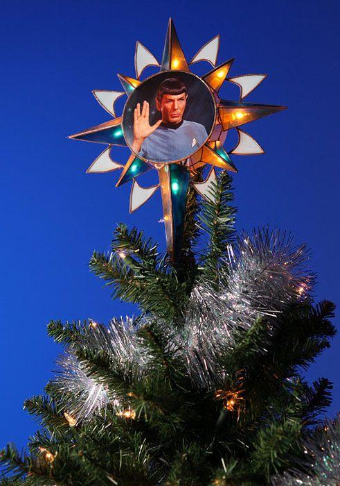 Star Trek Spock Tree Topper Star Trek Star Trek Christmas