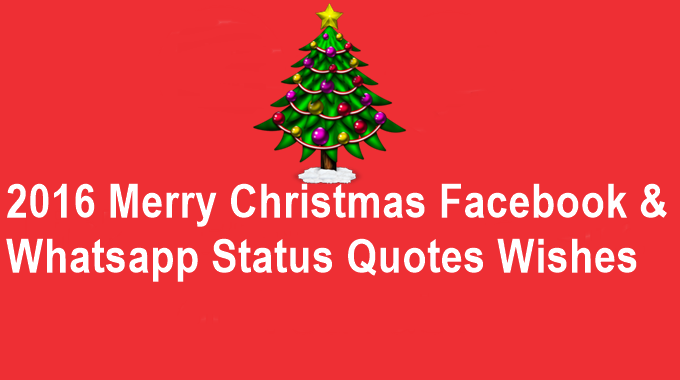 Pin by MirchiTech.com on 2016 Merry Christmas Facebook & Whatsapp ...