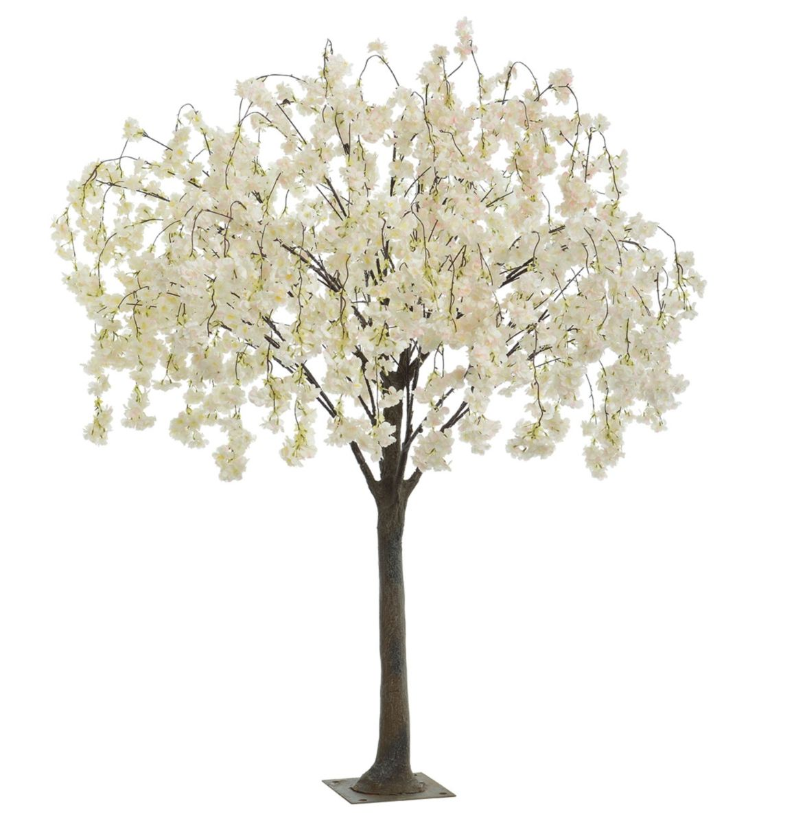 Artificial Blossom Tree With Pink Cream White Trailing Or Hanging Flowers Artificial Cherry Blossom Tree Blossom Trees Blossom Tree Wedding
