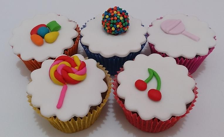 Cupcakes candy
