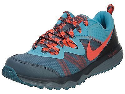 newest 823ea 74337 Nike Dual Fusion Trail Womens 652869-401 Blue Grey Running Shoes Wmns Size  9.5