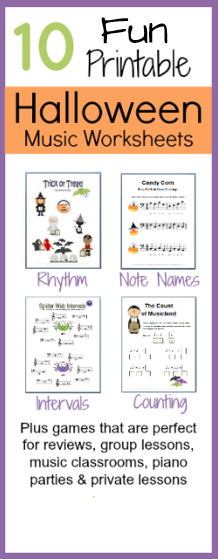 Halloween Music Theory Worksheets All Free And Super Fun