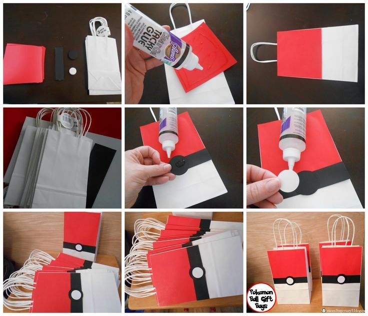 Image result for how to make nice gift bags no food