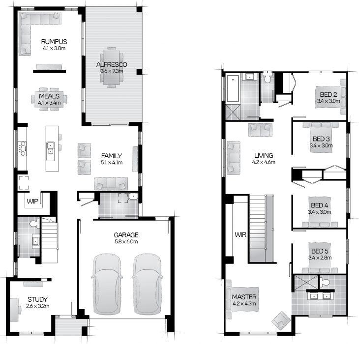 Paddington 34 Qld House Plans Best House Plans Home Builders