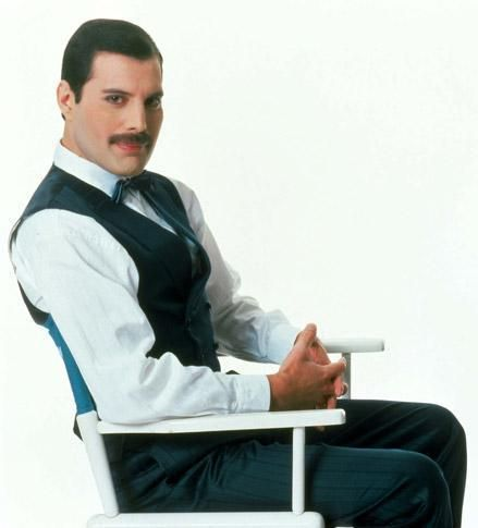 Freddie Mercury- Queen -brilliant