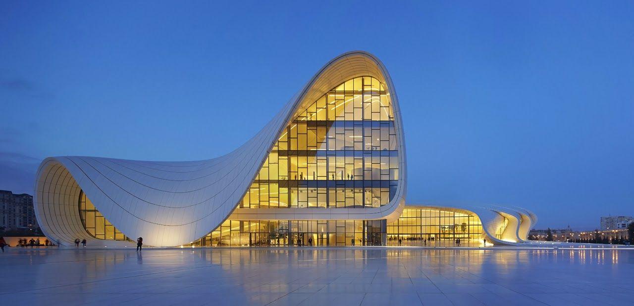 The Heydar Aliyev Center, Baku, Azerbaijan Zaha Hadid Architects, 2012 Amazing Design