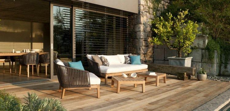 Mobilier De Jardin Lounge En 25 Photos Fascinantes Mobilier Jardin Pieces A Vivre Dans Le Jardin Et Idee Deco Terrasse