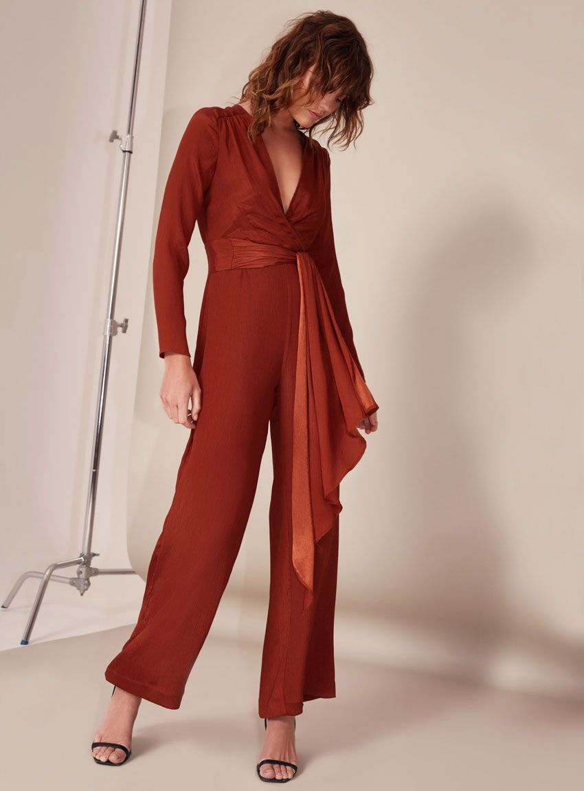 dabe8efd65ba C MEO Collective Eminence Jumpsuit – Copper