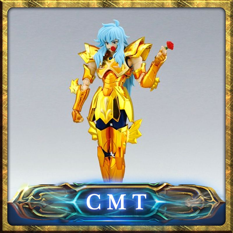 Special offer LC Model Saint Seiya Pisces Aphrodite Myth Cloth Gold pvc Action