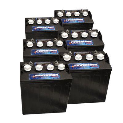 8 Volt Golf Cart Batteries - Powertron P8000 8V/160Ah (6 ...