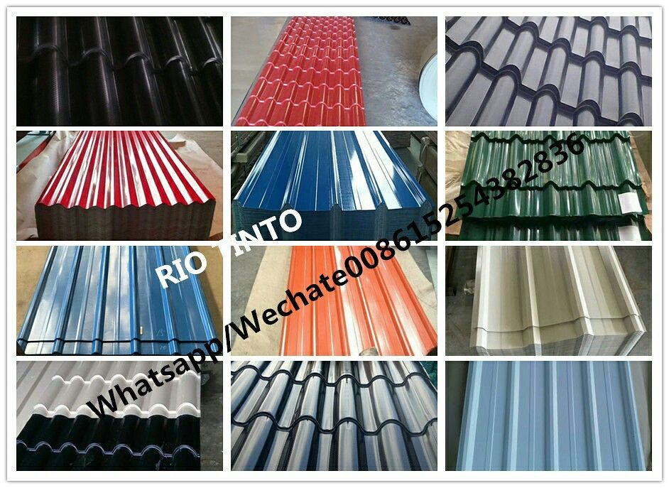 Color Coated Galvanized Corrugated Roofing Sheet Choose Shandong