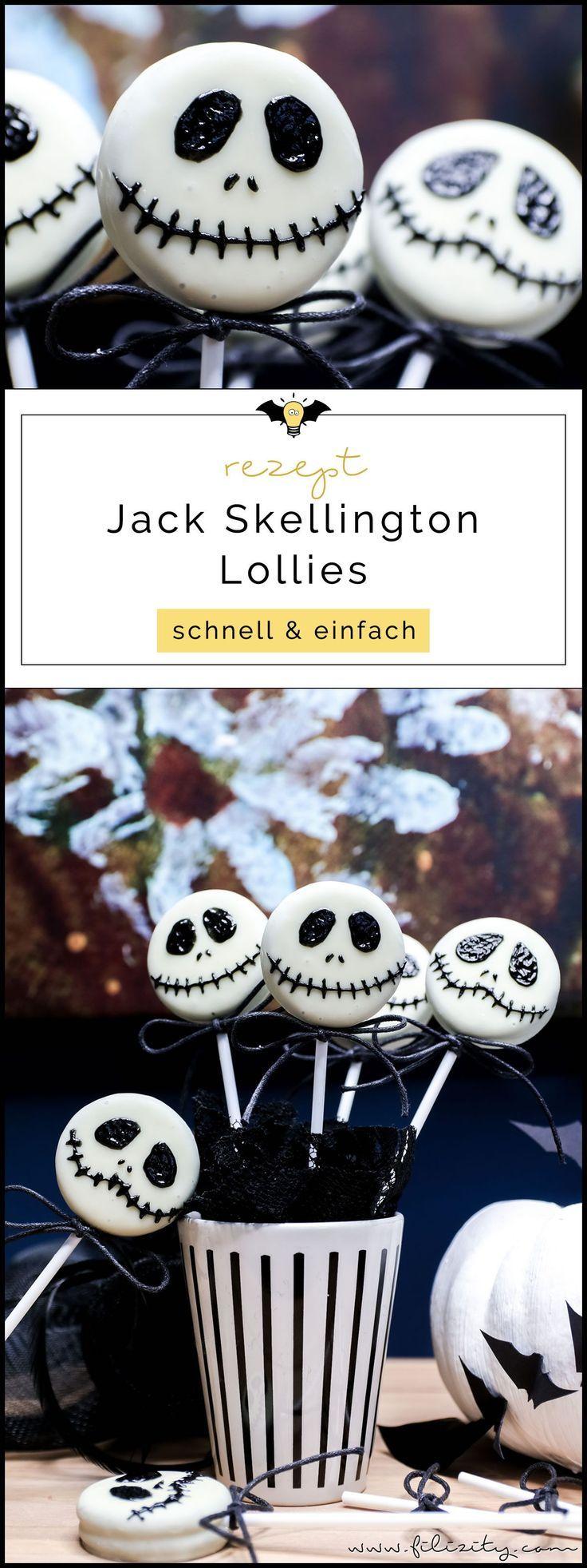 Schnelles Halloween-Rezept: Jack Skellington Keks Lollies | Filizity.com | Food-Blog aus dem Rheinland