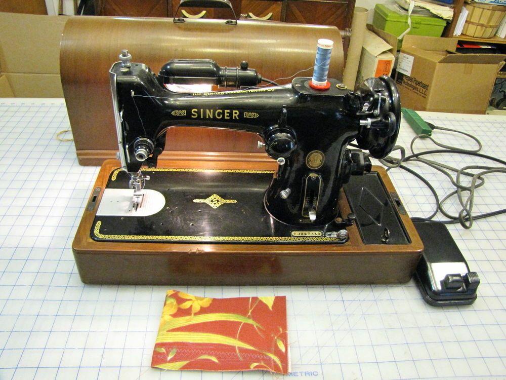 Singer Sewing Machine Zig Zag Model 40k W Bentwood Case Pinterest Cool Sewing Machine For Sunbrella