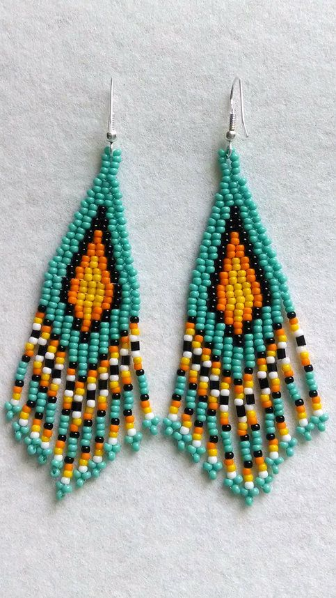Perfect These Color Rich Dangle Earrings Are A Must Have For Your Summer Accessories.  The Perfect