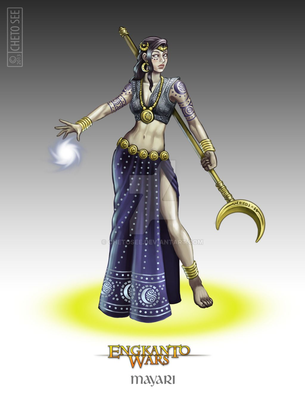 Mayari by chetosee on DeviantArt | Philippine mythology