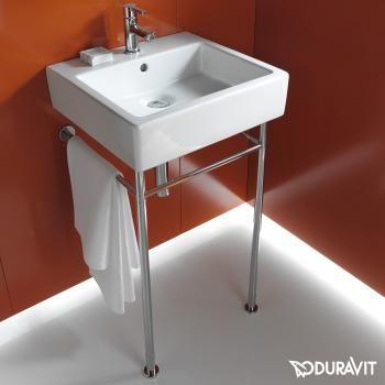 Duravit Vero Rohrgestell Fur Waschtische 60 X 47 Cm Reuter De Duravit Wall Mounted Bathroom Sinks Wash Basin