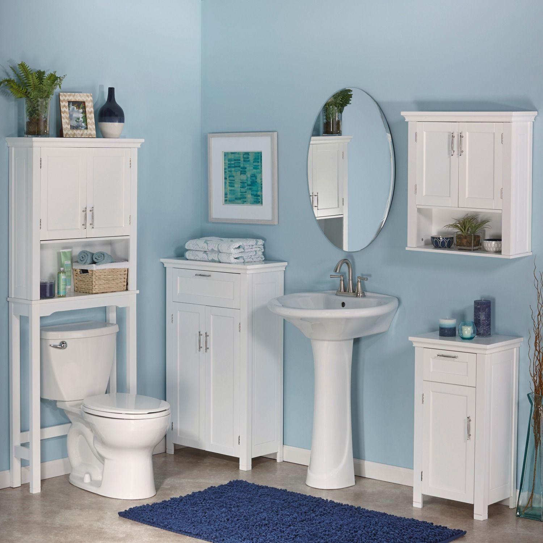 RiverRidge Somerset Two-Door White Floor Cabinet - Overstock ...