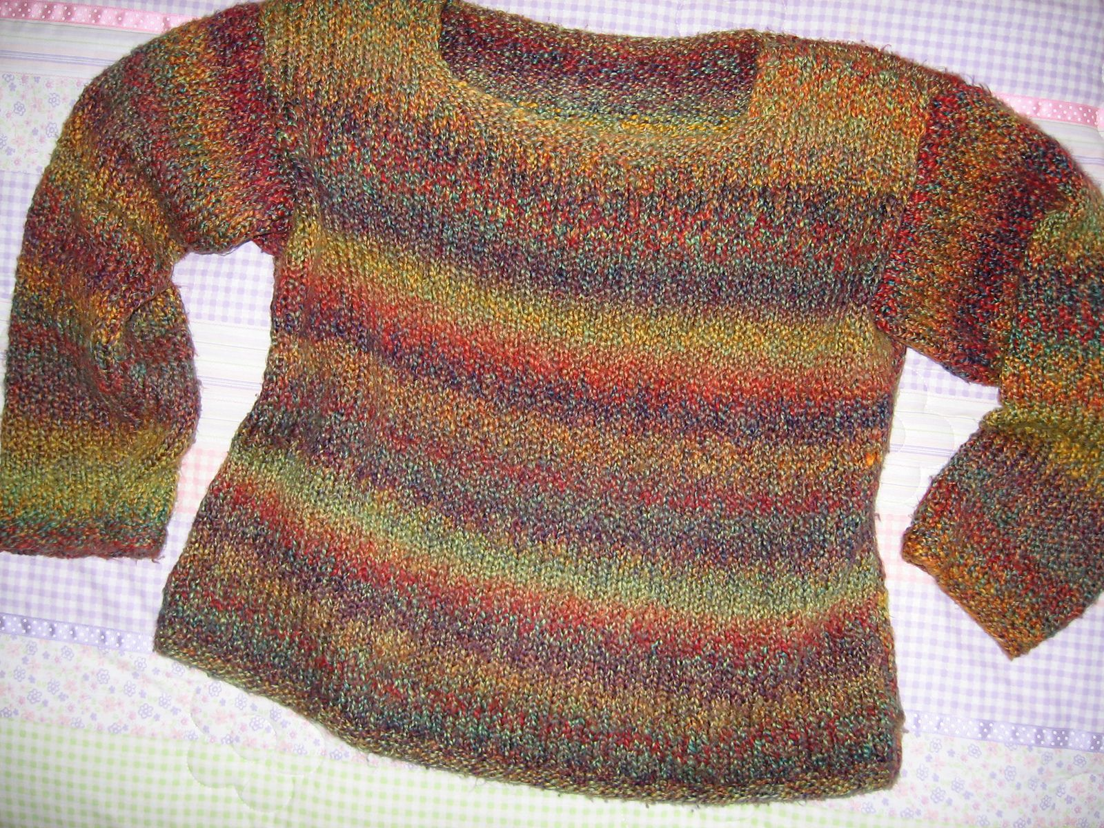 Basic Knitted Sweater By Better Homes And Gardens - Free Knitted ...