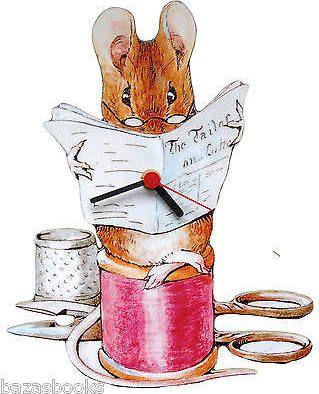 beatrix potter clock - Google Search