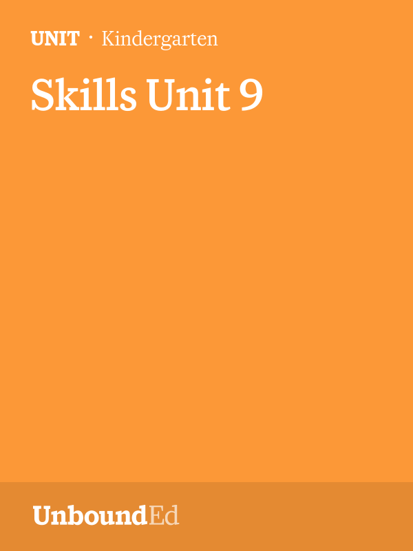 (Skills U9) This unit introduces uppercase letters as well as 17 additional Tricky Words.