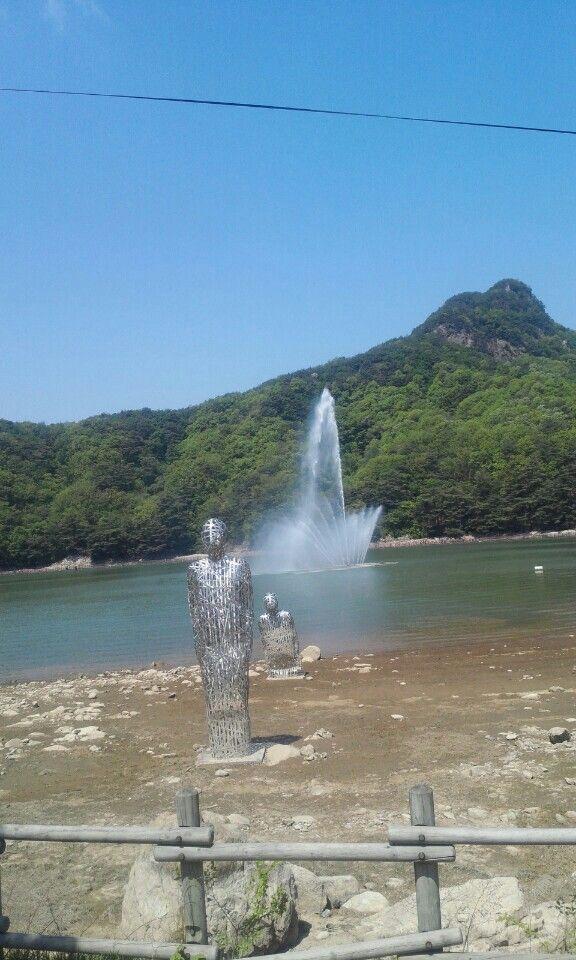 Lake of mountain.