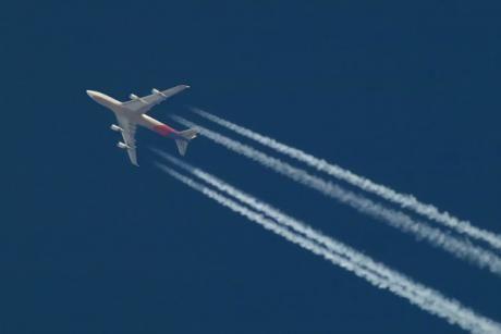 Les émissions de polluants issues du trafic aérien ont augmenté en 2012.