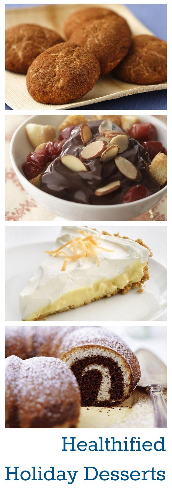 The Best Holiday Desserts, Healthified