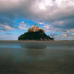 Mont  Saint Michel #France #MontSaintMichel #Normandy ©Editions Gelbart / Jean-Jacques Gelbart