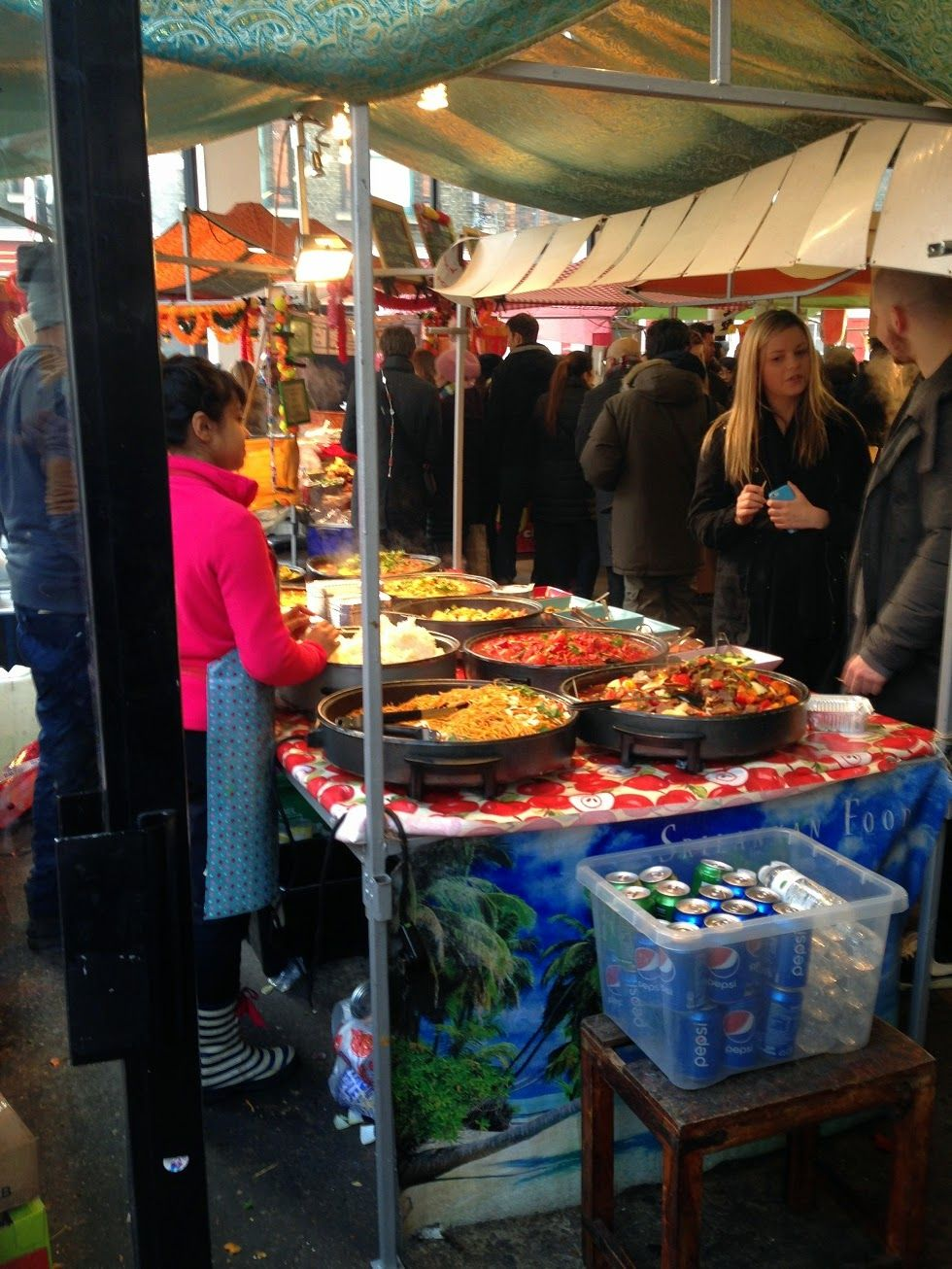 Indoor Food Market, Shoreditch Http://1.bp.blogspot.com