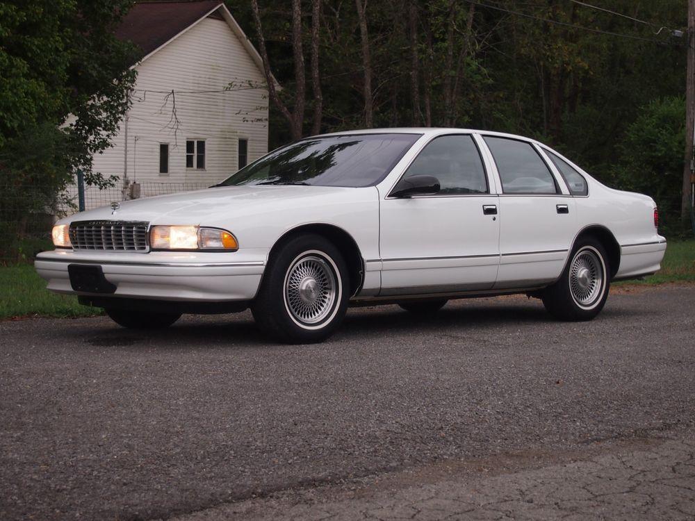 1996 Chevrolet Caprice Chevrolet Caprice Caprice Classic Chevy Caprice Classic