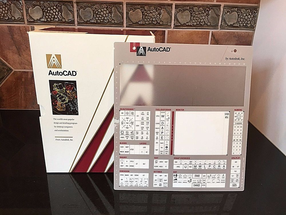 AutoCAD Reference Manuals 5 Manuals Desktop Overlay 1989 Release 10
