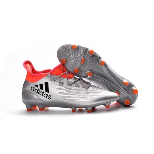 reputable site b0fe5 b286f New Adidas X 16.3 FG Mens Football Boot Silver Orange, Free Shipping!
