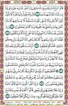 صفحة 11 سورة البقرة Quran Verses Noble Quran Verses