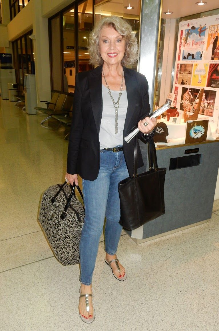 susan street. perfect airplane outfit. | mature style | pinterest