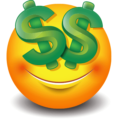 Eyeing Those Benjamins Funny Emoticons Emoticons Emojis Smiley Emoji