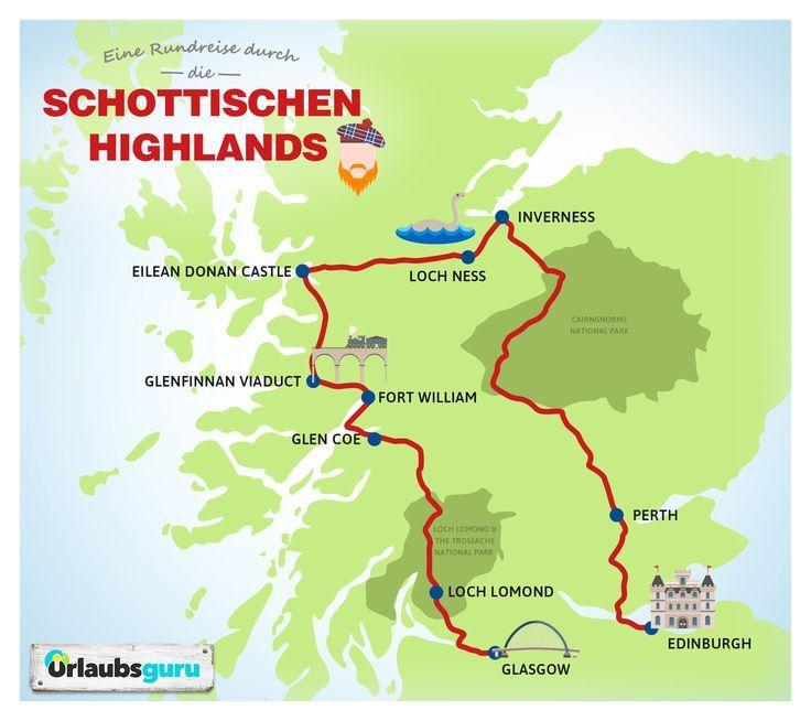 Photo of Round trip through the Scottish Highlands holiday guru