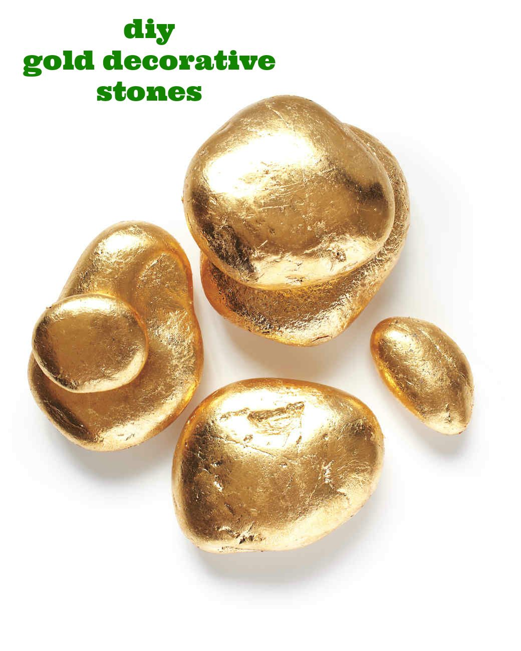 Gold Tabletop Stones Gold Diy Table Top Gold