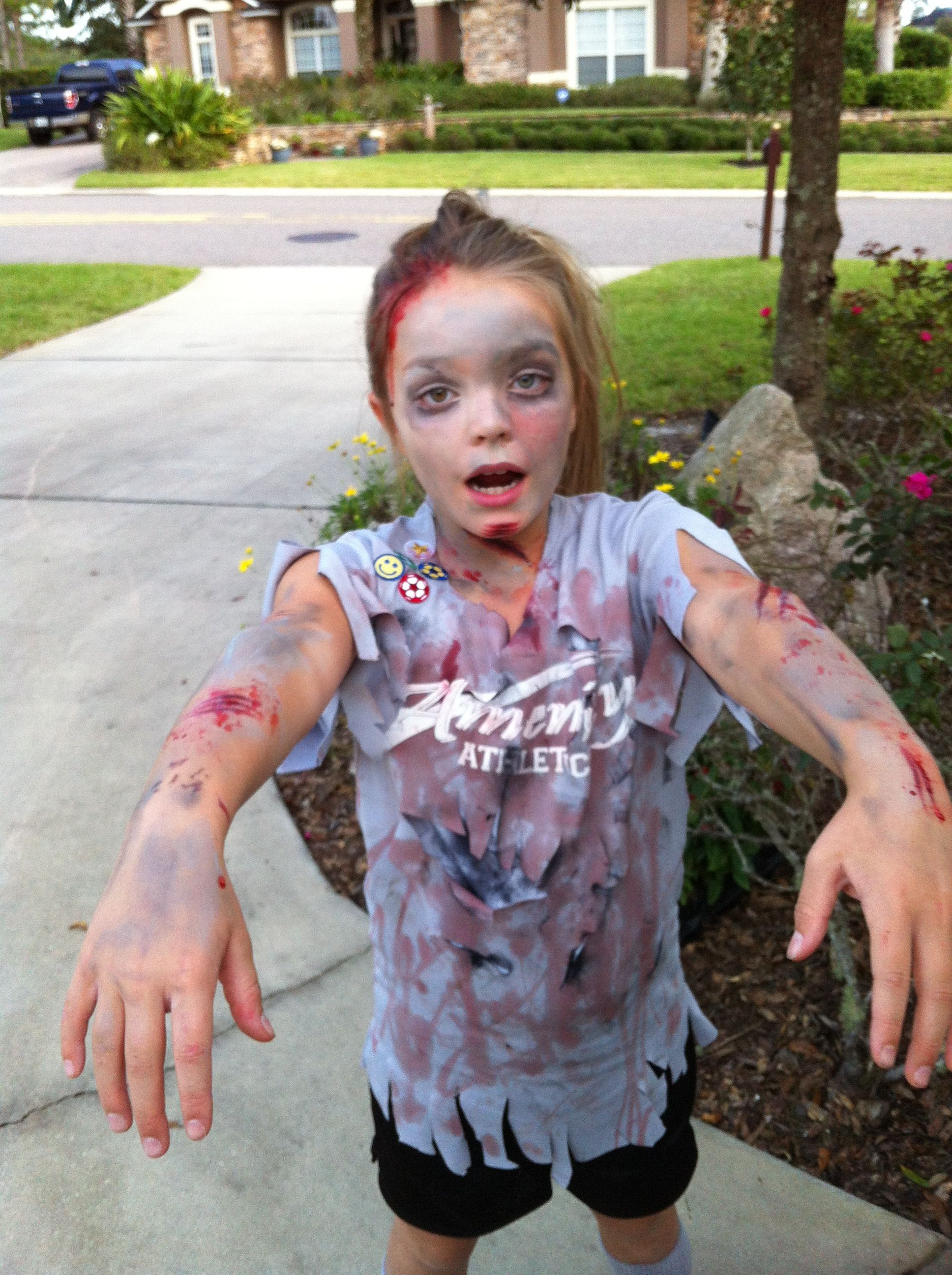 Zombie Soccer Player Zombie Costume Kids Halloween Costumes For Girls Baby Girl Halloween Costumes