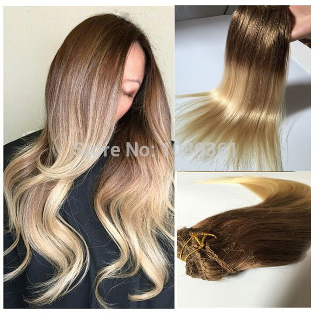 Ombre Hair Extensions Clip In Human Hair Url Httpsk Kustomrods