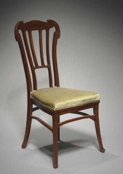 Mahogany Chair Victor Horta c 1900 Furniture Victor Horta